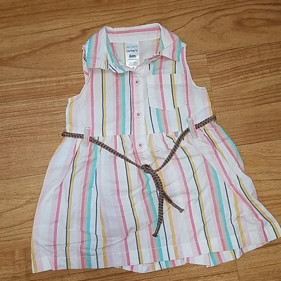 Carter's baby dress size 6 months
